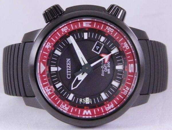 Citizen Eco-Drive GMT Divers 200M BJ7085-09E Mens Watch