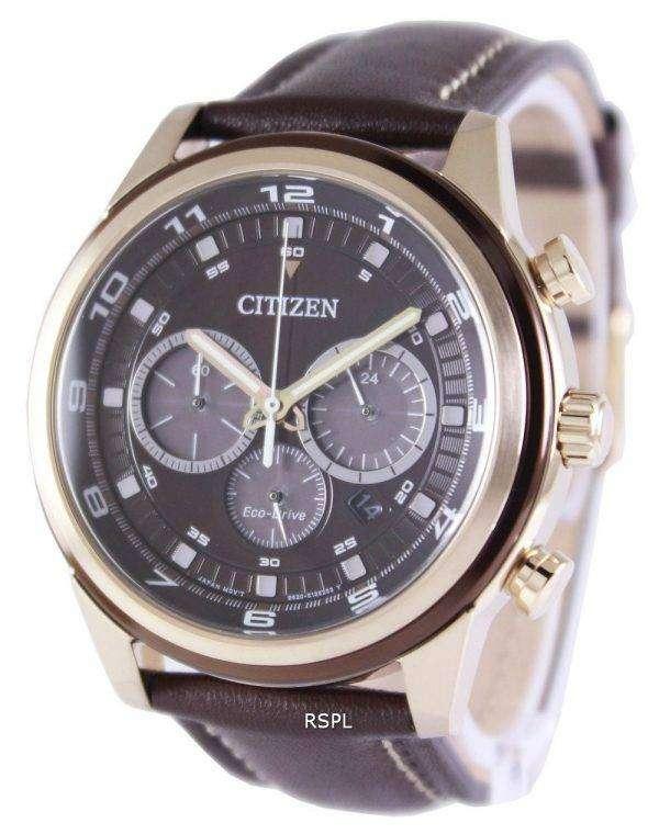 Citizen Eco-Drive Chronograph CA4037-01W Watch 1