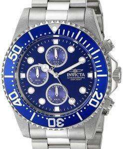 Invicta Pro Diver Chronograph 200M 1769 Mens Watch