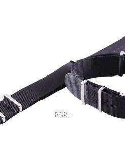 Black Nato Strap 22mm For SKX007, SKX009, SKX011, SRP497, SRP641