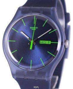 Swatch Originals Blue Rebel Swiss Quartz SUON700 Unisex Watch