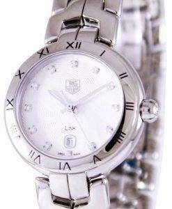 Tag Heuer Link Bracelet Diamond Dial WAT1411.BA0954 Womens Watch