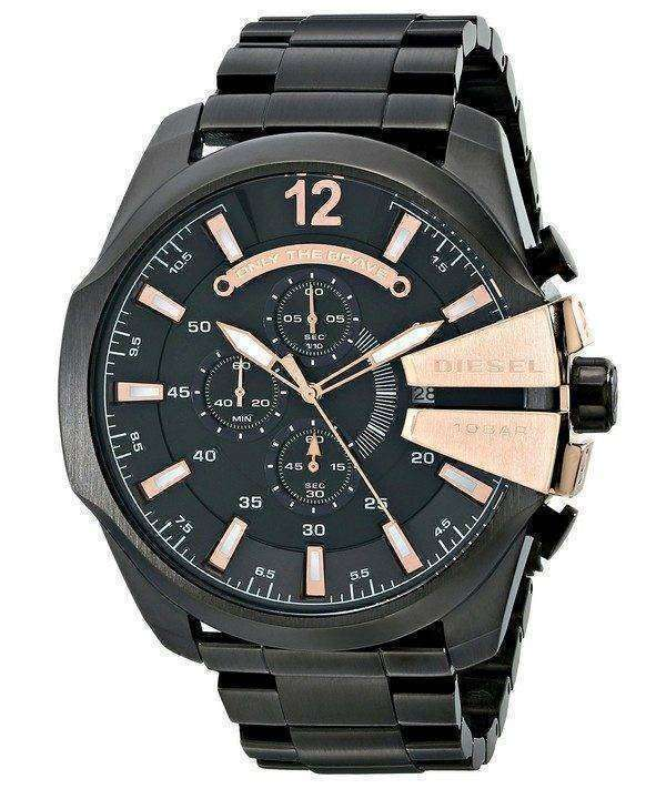 Diesel Quartz Chief Chronograph Black Dial DZ4309 Men's Watch 1