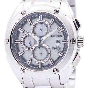Citizen Eco-Drive Chronograph Super Titanium CA0210-51A Mens Watch