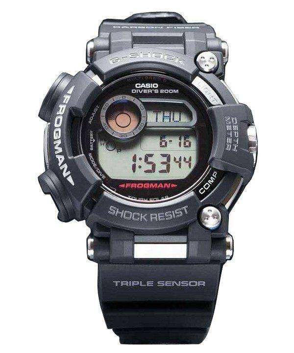 Casio G-Shock Frogman Atomic Triple Sensor GWF-D1000-1JF Mens Watch 1