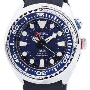 """Seiko Prospex Kinetic GMT Diver's """"PADI"""" Edition SUN065P SUN065P1 SUN065P Men's Watch"""