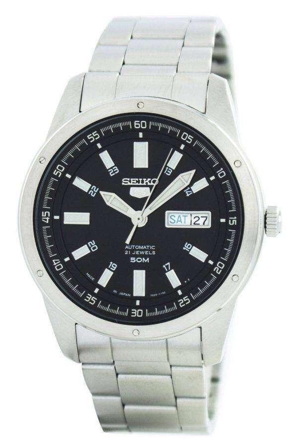 Seiko 5 Automatic 21 Jewels Japan Made SNKN13 SNKN13J1 SNKN13J Men's Watch 1