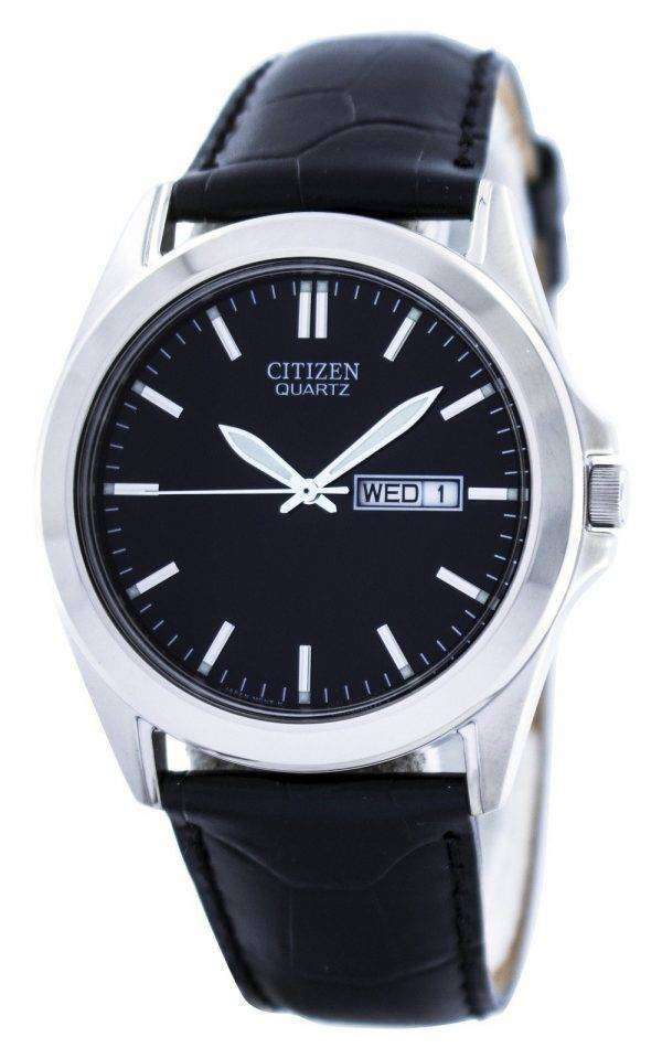 Citizen Quartz Black Dial BF0580-06E Mens Watch 1