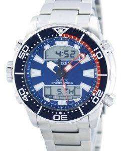 Citizen Aqualand Promaster Divers 200M Analog Digital JP1099-81L Mens Watch