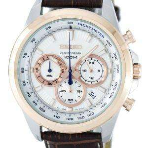 Seiko Chronograph Quartz Tachymeter SSB250 SSB250P1 SSB250P Men's Watch
