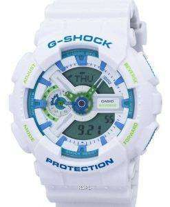 Casio G-Shock Sport Shock Resistant World Time Analog Digital GA-110WG-7A Men's Watch