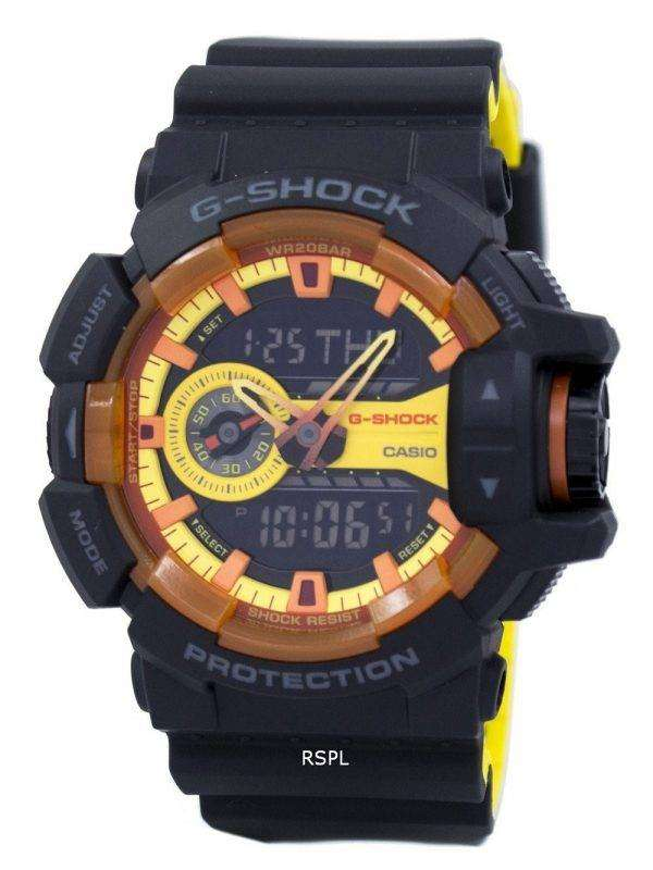 Casio G-Shock Shock Resistant Analog Digital GA-400BY-1ADR GA400BY-1ADR Men's Watch 1