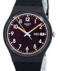 Swatch Originals Sir Red Quartz GB753 Unisex Watch