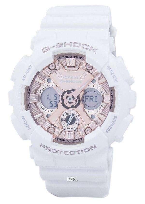 Casio G-Shock Shock Resistant World Time Analog Digital GMA-S120MF-7A2 Men's Watch 1