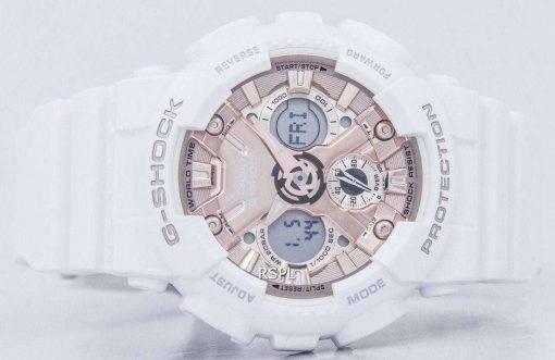 Casio G-Shock Shock Resistant World Time Analog Digital GMA-S120MF-7A2 Men's Watch