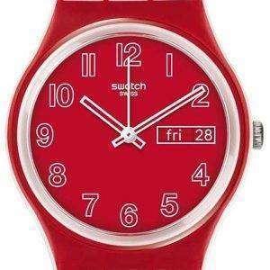 Swatch Originals Poppy Field Quartz GW705 Unisex Watch