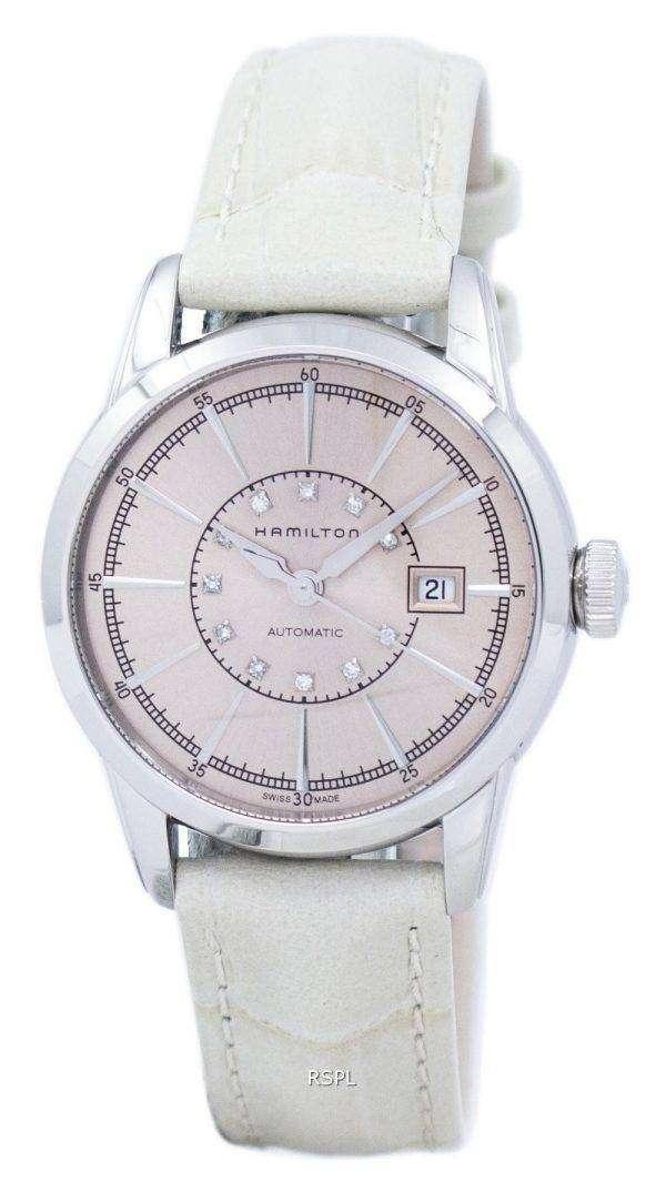 Hamilton American Classic Railroad Automatic Diamond Accent H40405821 Women's Watch 1