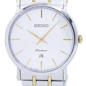 Seiko Premier Quartz Analog SKP400 SKP400P1 SKP400P Men's Watch
