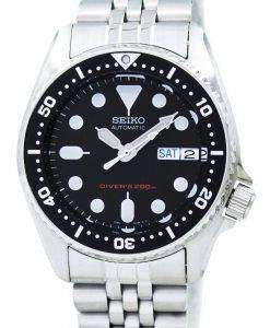 Seiko Divers Automatic 200m 21 Jewels Small-Size SKX013K2 Men's Watch