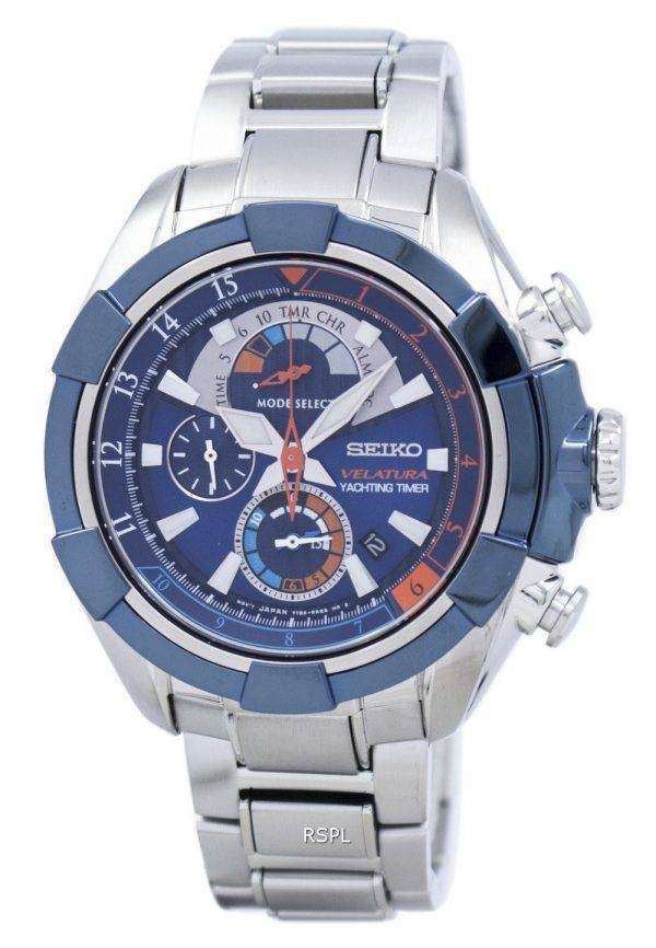 Seiko Velatura Yachting Timer Quartz SPC143 SPC143P1 SPC143P Men's Watch 1