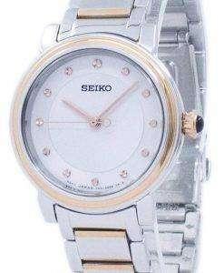 Seiko Discover More Quartz Diamond Accent SRZ480 SRZ480P1 SRZ480P Women's Watch