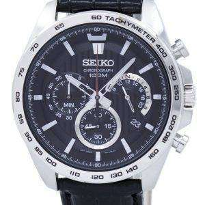 Seiko Chronograph Quartz Tachymeter SSB305 SSB305P1 SSB305P Men's Watch