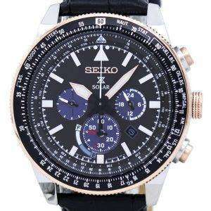 Seiko Prospex Solar Chronograph SSC611 SSC611P1 SSC611P Men's Watch