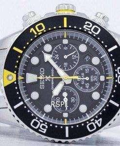 Seiko Prospex Diver's Solar Chronograph 200M SSC613 SSC613P1 SSC613P Men's Watch