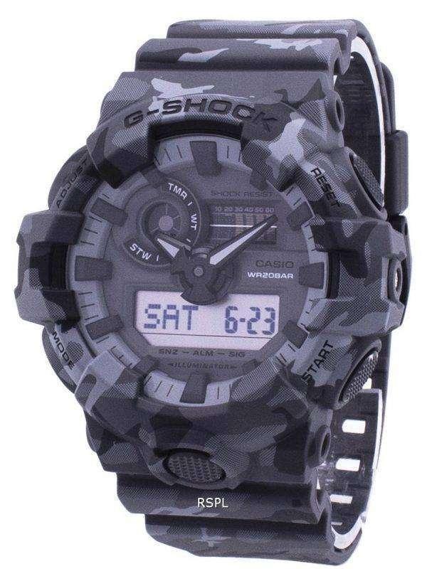 Casio Illuminator G-Shock Shock Resistant Analog Digital GA-700CM-8A GA700CM8A Men's Watch 1