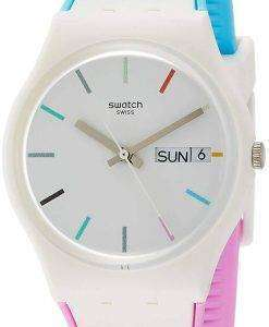 Swatch Originals Edgyline Analog Quartz GW708 Men's Watch