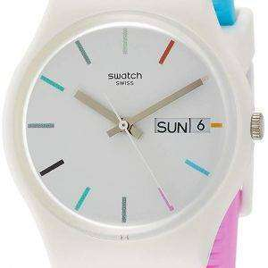 Swatch Originals Edgyline Analog Quartz GW708 Men's Watch