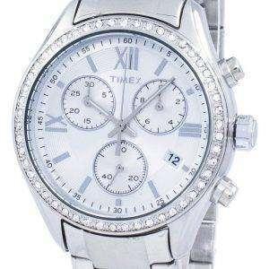 Timex Miami Chronograph Quartz Diamond Accent TW2P66800 Women's Watch