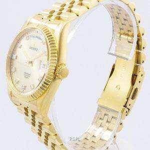 "Orient ""President"" Classic Automatic Diamond Accent EV0J001G Men's Watch"