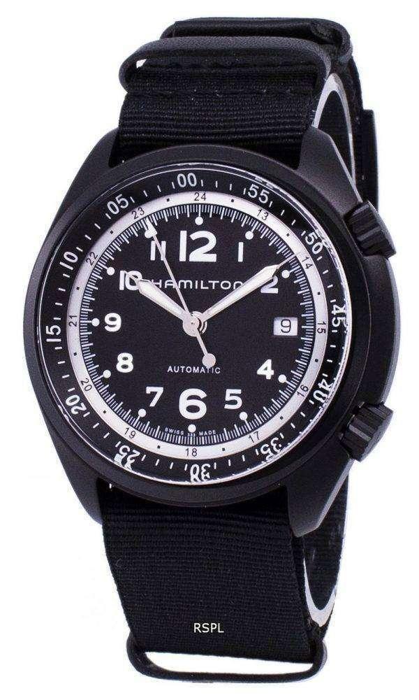 Hamilton Khaki Aviation Pilot Pioneer Automatic H80485835 Men's Watch 1