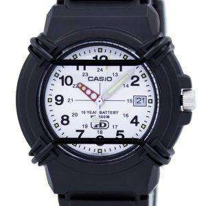 Casio Enticer Analog White Dial HDA-600B-7BVDF HDA-600B-7BV Mens Watch
