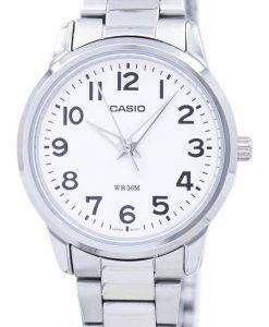 Casio Enticer Analog Quartz White Dial LTP-1303D-7BVDF LTP-1303D-7BV Womens Watch