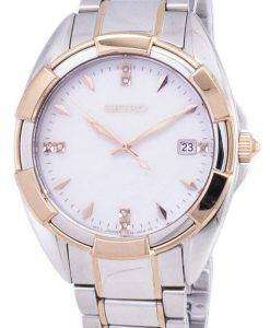 Seiko Quartz Diamond Accents SKK888 SKK888P1 SKK888P Women's Watch