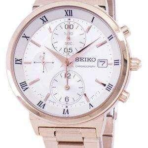 Seiko Chronograph Quartz SNDV34 SNDV34P1 SNDV34P Women's Watch