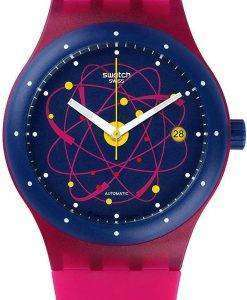 Swatch Originals Sistem Pink Automatic SUTR401 Unisex Watch
