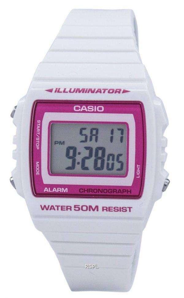 Casio Illuminator Chronograph Alarm Digital W-215H-7A2VDF W215H-7A2VDF Unisex Watch 1