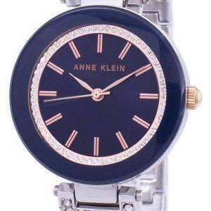 Anne Klein Quartz Diamond Accent 1907NVRT Women's Watch