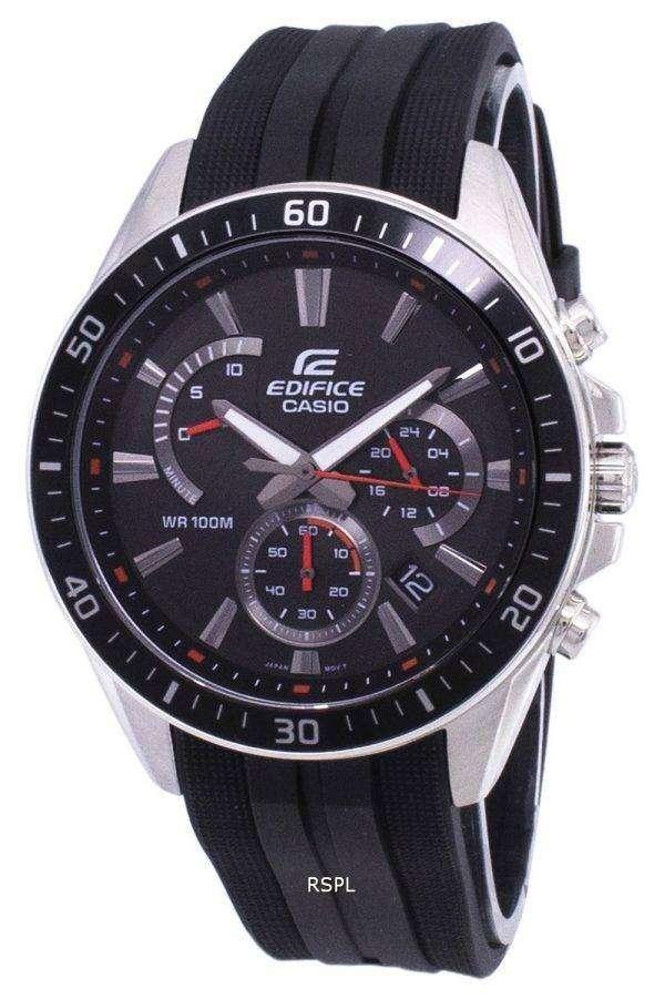 Casio Edifice Chronograph Quartz EFR-552P-1AV EFR552P-1AV Men's Watch 1