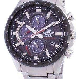 Casio Edifice Chronograph Solar EQS900DB-1AV EQS-900DB-1AV Men's Watch