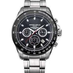 Aries Gold Inspire Drifter Chronograph Quartz G 7001 SBK-BK Men's Watch