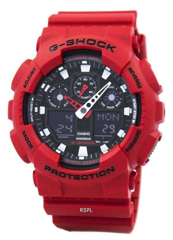 Casio G-Shock GA-100B-4A Analog-Digital Mens Watch 1