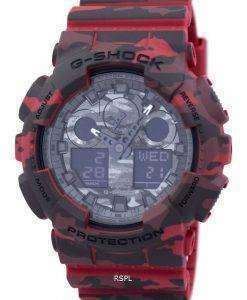 Casio G-Shock Camouflage Series Analog-Digital GA-100CM-4A Mens Watch