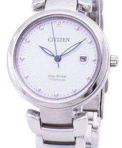 Citizen Eco-Drive Super Titanium EW2500-88A Women's Watch