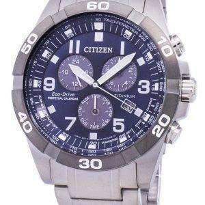 Citizen Brycen Eco-Drive Titanium Chronograph Perpetual Calendar BL5558-58L Men's Watch