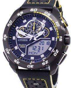 Citizen Promaster Eco-Drive Chronograph 200M Japan Made JW0127-04E Men's Watch