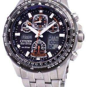 Citizen Promaster Eco-Drive Power Reserve Radio Controlled 200M JY0030-52E Men's Watch